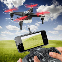 Spyforce1 Drohne Smartphone