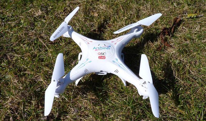 Arshiner Q5C Drohne im Test