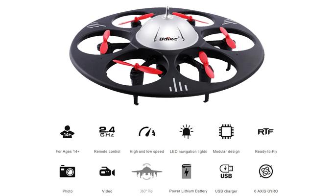 UDI U845 Drohne: Funktionen im Test