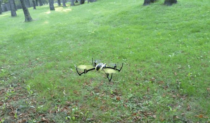 Blade Nano Quadrocopter im Test-Flug