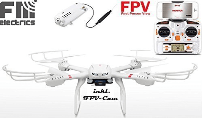 MJX X101 Quadrocopter Testbericht