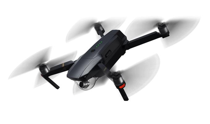 4K Drohne mit smartem LiPo-Akku