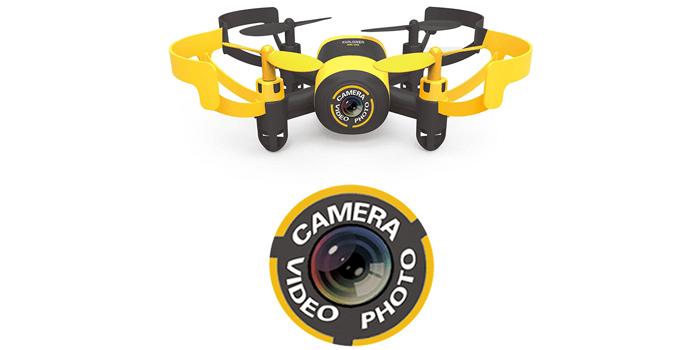 Kamera der Hasakee Mini RC Drohne