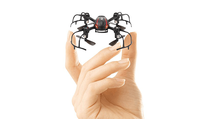 Mini Quadrocopter X902 Black Spider Test