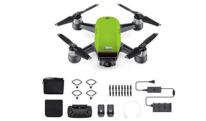 Lieferumfang der DJI Spark Drohne