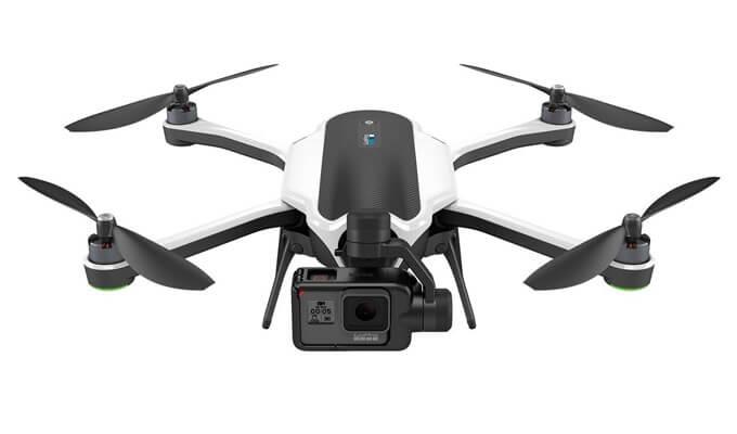 GoPro Karma Drohne mit Actionkamera Hero 5