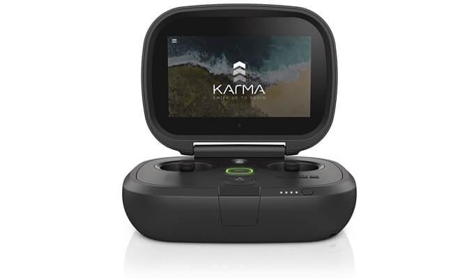 Klappbare Fernsteuerung der GoPro Karma