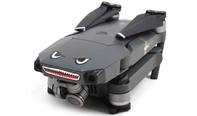 Drohnen Zubehör: Aufkleber für DJI & Co