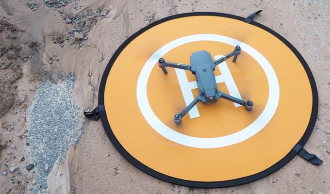 Drohnen-Helipad im Test