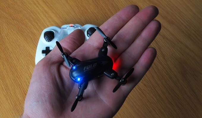 X31 Quadrocopter ist klein und kompakt
