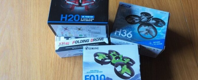 Drohnen unter 20 Euro im Test & Vergleich