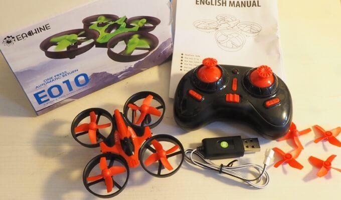 Eachine E010: Billige Drohne