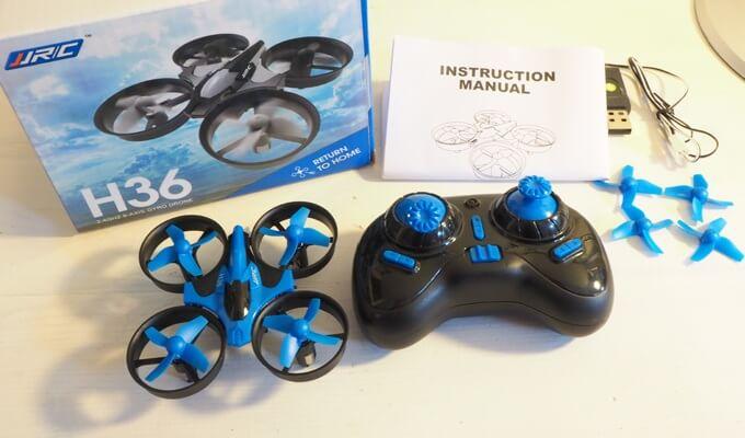 Drohne unter 20 Euro: JJRC H36 im Test