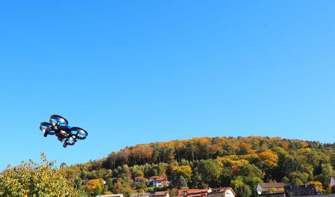 Drohne für Garten & Wohnung