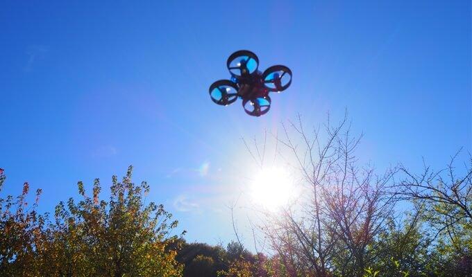 Drohne für den Garten und die Wohnung
