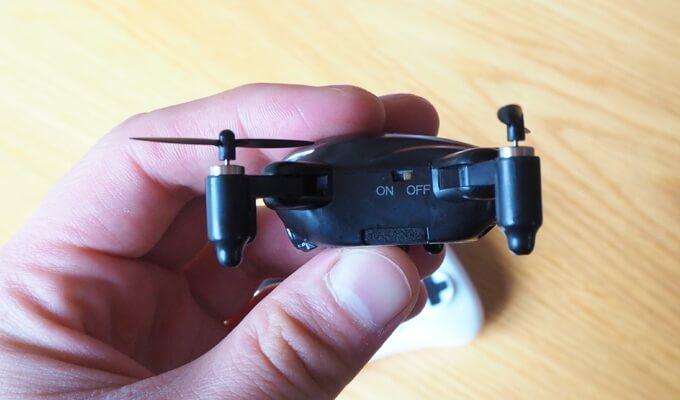 Faltbarer Quadrocopter für 20 Euro