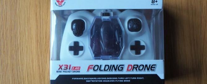 Drohne X31 im Test