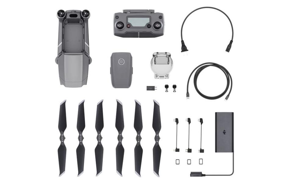 Lieferumfang der Mavic 2 Drohne