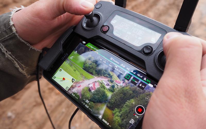 Reichweite der Mavic Drohne im Test