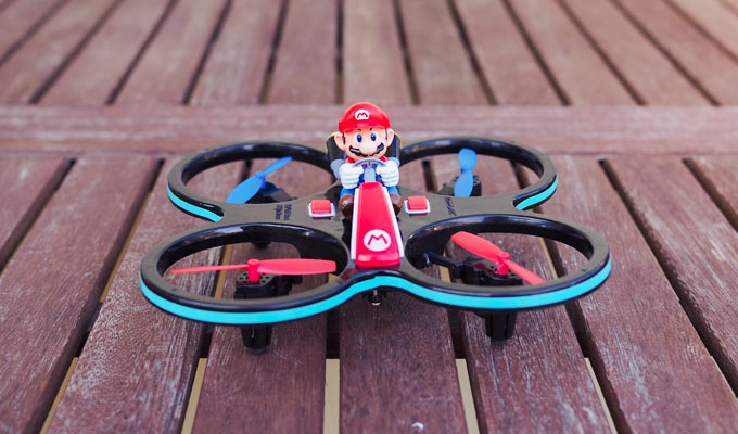 Super Mario Quadrocopter: Spaßdrohne im Test