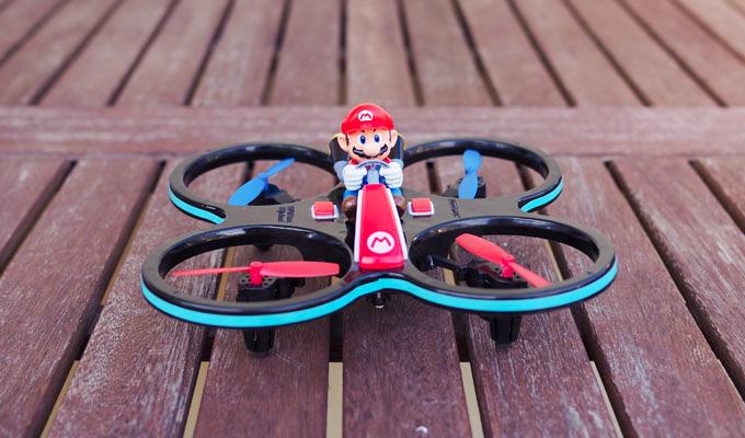 Super Mario Quadrocopter: Spaßdrohne im Test