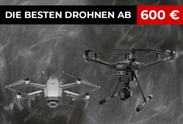 Die besten Kameradrohnen ab 600 Euro