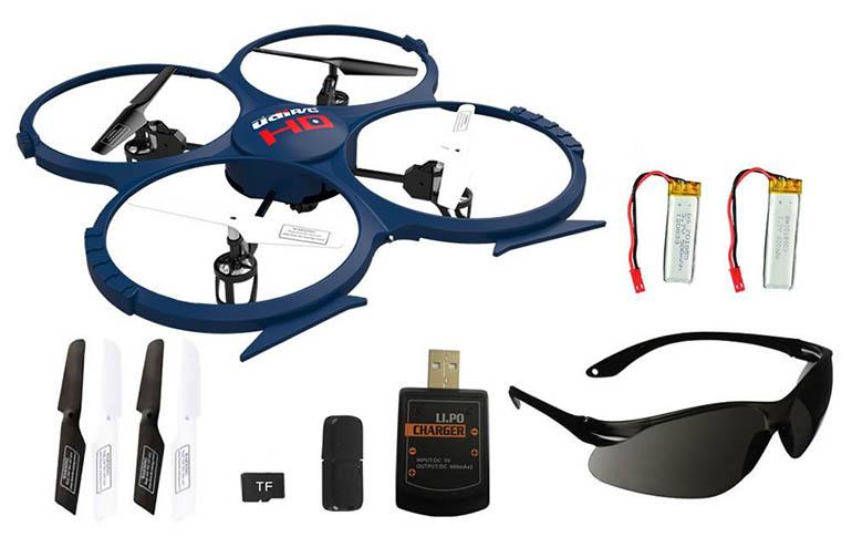 UDI U818A Quadrocopter Test