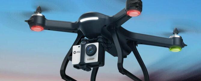 Drohne für Actionkameras wie GoPro oder Rollei