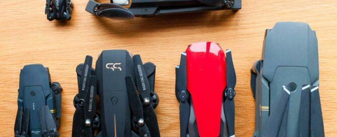 Faltbare Drohnen im Vergleich: Von Mavic bis Anafi