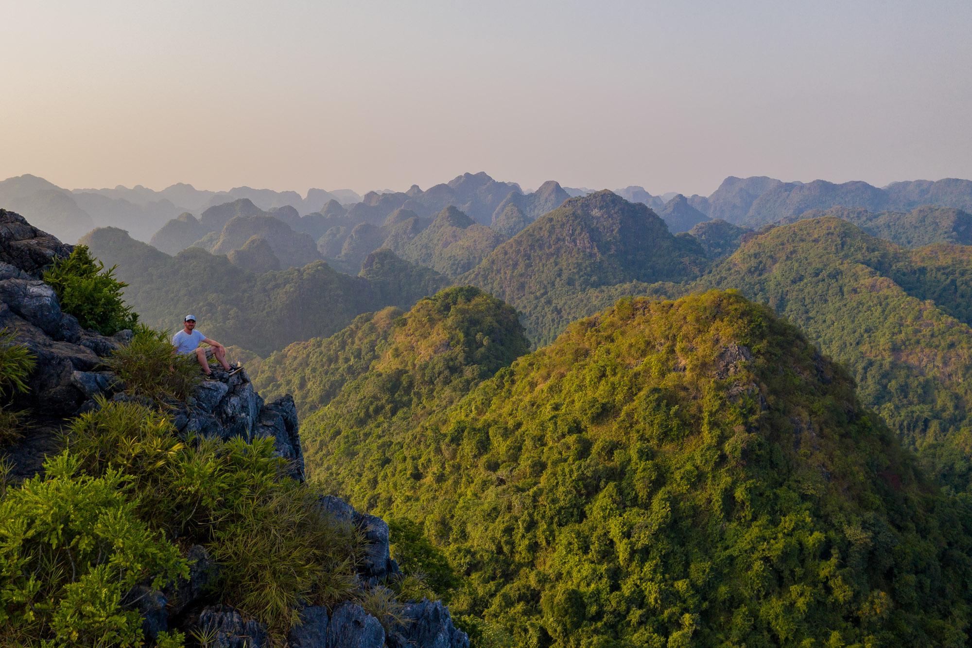 DJI Mavic 2 Pro Test Bild aus Vietnam
