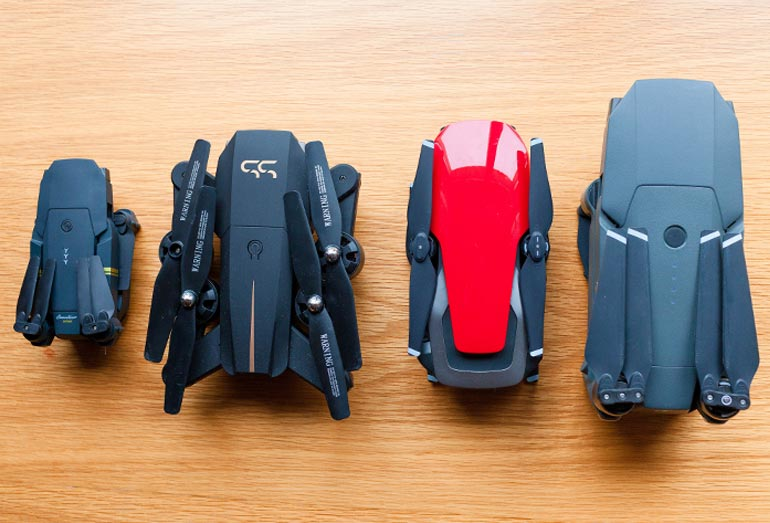 Drone X Pro: Test & Vergleich mit Profi-Drohnen