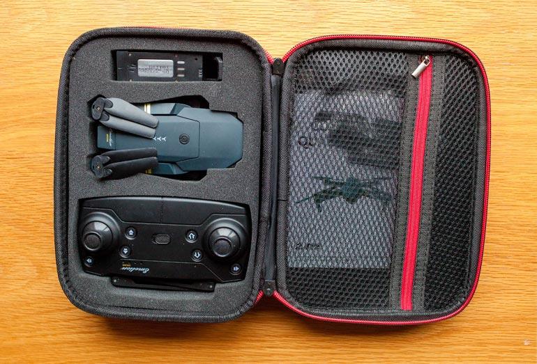 Drone X Pro Lieferumfang: Das ist in der Box