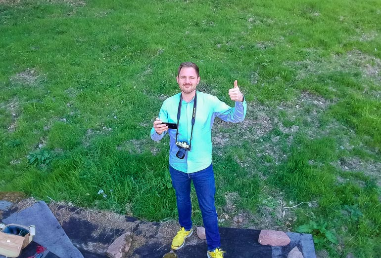 Tello Drohne Selfie: So gut sind die Dronies der Tello Iron Man Edition