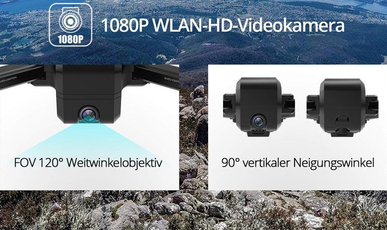 DEERC DE25 Kamera & Gimbal der Drohne