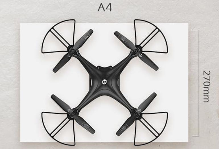 Drohne unter 250 Gramm Gewicht: Holy Stone HS120D im Test