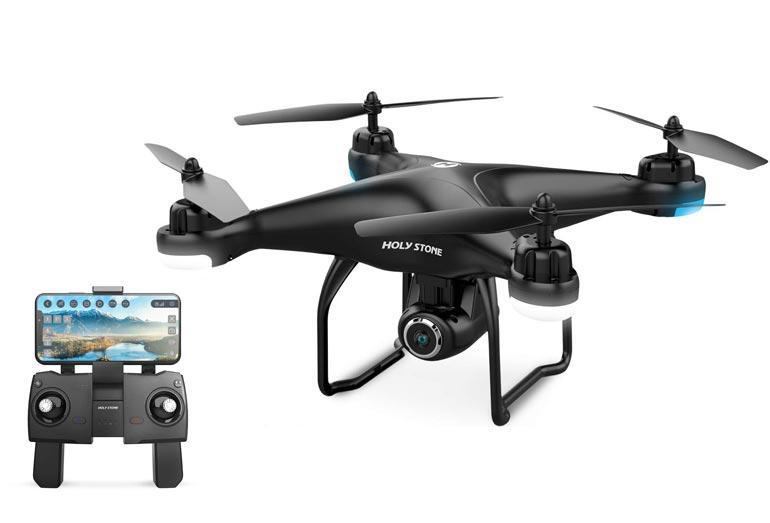 Lieferumfang der HolyStone HS120D Drohne