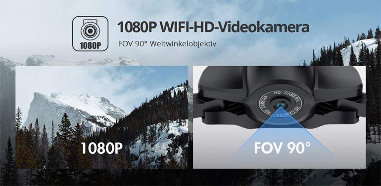 Kamera der Holy Stone HS165 Drohne