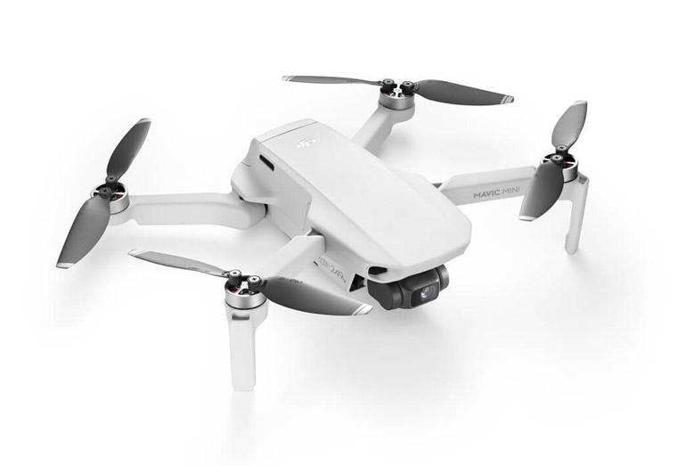 Kleiner Quadrocopter für Reisen mit guter Kamera